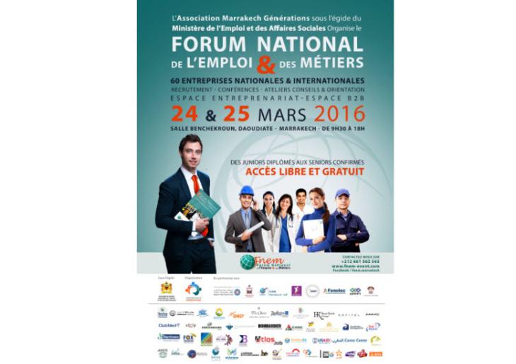 أجيال مراكش تطلق الملتقى الوطني الثاني للتشغيل بمشاركة 40 شركة محلية وجهوية ووطنية