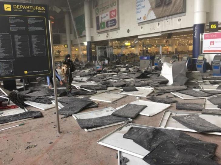 هجمات انتحارية أودت بحياة أزيد من 21 شخصاً بالعاصمة البلجيكية بروكسيل