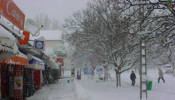 نشرة خاصة: استمرار تساقط كميات هامة من الثلوج وموجة من الطقس البارد يومي الثلاثاء والأربعاء