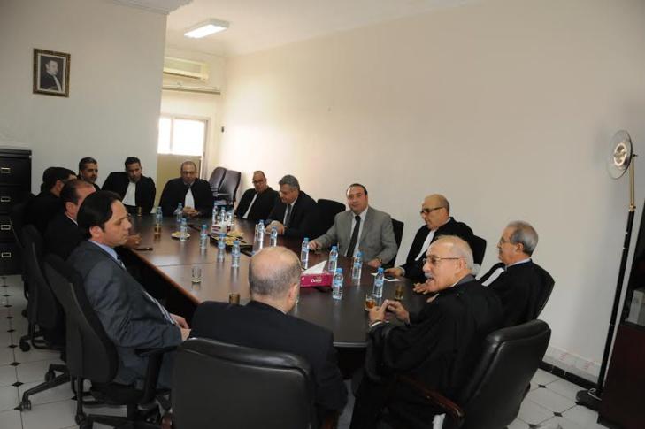 هيئة المحامين بمراكش تستقبل ممثلين عن هيئة المحامين بطرابلس اللبنانية + صور