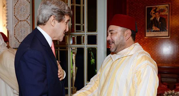 الملك محمد السادس يجري مباحثات هاتفية مع وزير الخارجية الأمريكي