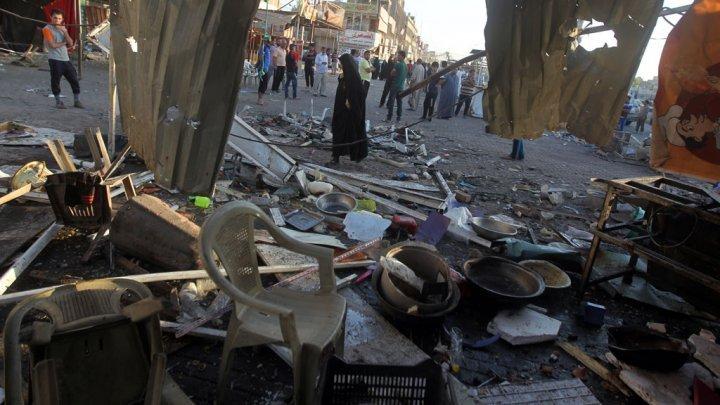 سقوط 30 قتيلا في هجوم انتحاري جنوب بغداد تبناه تنظيم