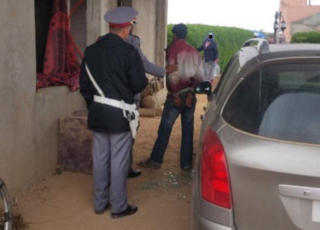 حصري: اعتقال عشريني متلبسا بالسرقة داخل ضيعة فلاحية نواحي مراكش