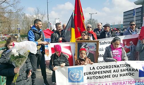 مغاربة الألزاس واللورين يتظاهرون ضد التصريحات المستفزة لبان كي مون