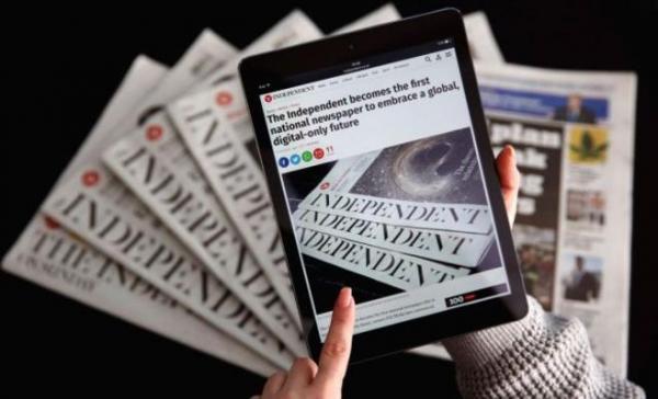 """صحيفة """"ذي إندبندنت"""" البريطانية تودع الصحافة الورقية"""