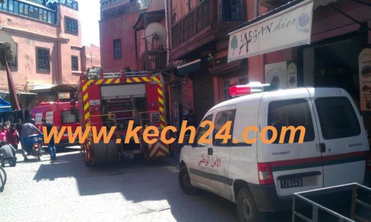 فاجعة: حريق مهول يودي بحياة طفل في عمر الزهور بمراكش + صورة