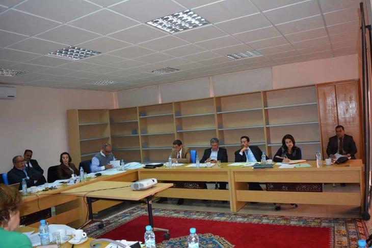 مكتب مجلس جهة مراكش آسفي يناقش حصيلة التفويضات القطاعية + صور