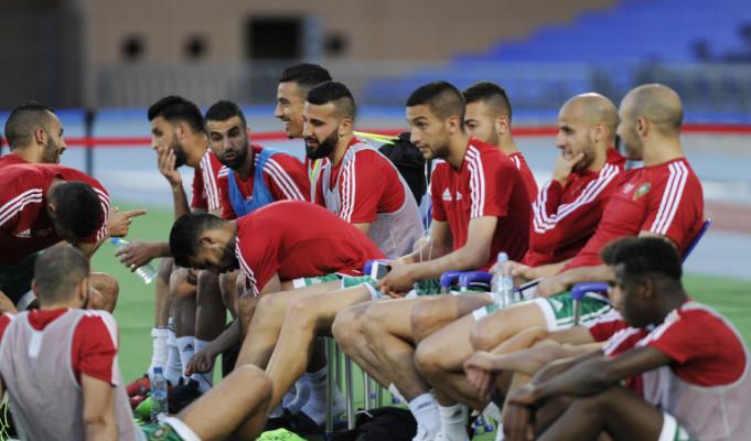 هيرفي رونارد يطرد هؤلاء من تداريب المنتخب المغربي بمراكش