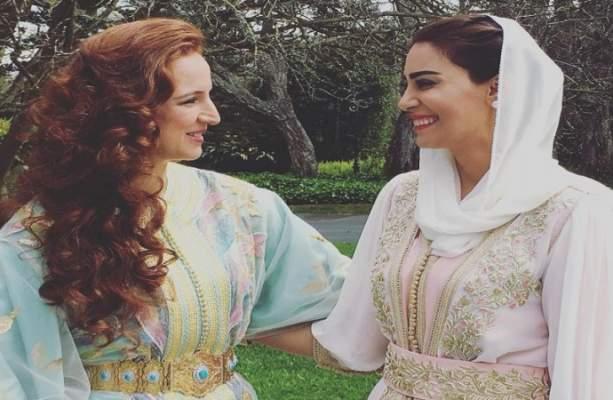 هكذا وصفت الإعلامية البحرينية ندى الشيباني الأميرة للا سلمى بعد استقبالها بالقصر الملكي