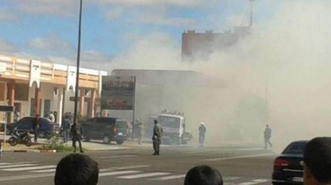 اندلاع حريق مهول بمحطة للوقود بكلميم يخلف خسائر مادية جسيمة