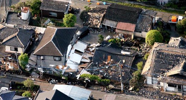 زلزال جديد بقوة 5,8 درجة يهز جنوب اليابان