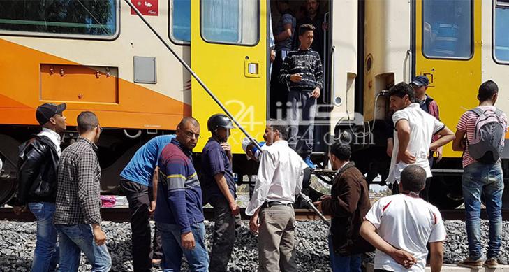 حصري: قطار يدهس شخصا بمدخل مدينة مراكش
