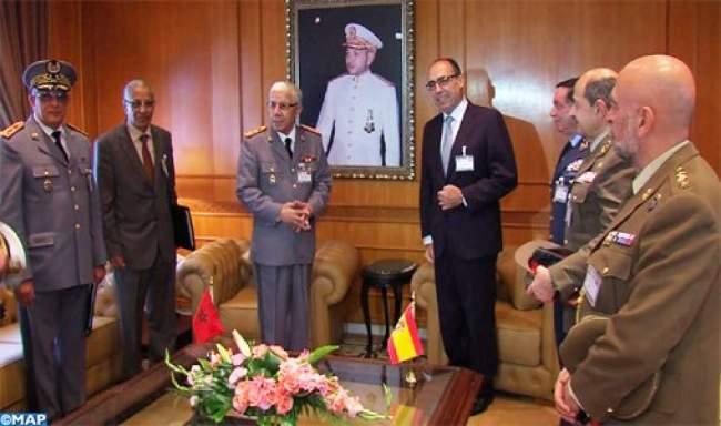المغرب وإسبانيا يبحثان تعزيز التعاون العسكري بين القوات المسلحة للبلدين