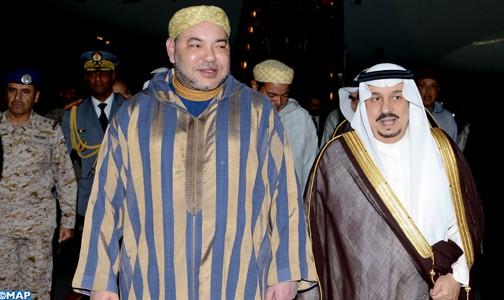 جلالة الملك يؤكد أن أمن و استقرار دول الخليج العربي من أمن المغرب
