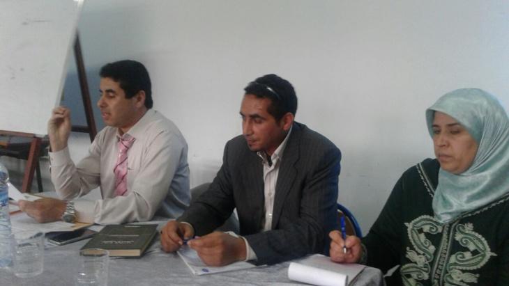 تلاميذ ثانوية موسى بن نصير بمراكش يستفيدون من تكوين في التربية على حقوق الإنسان
