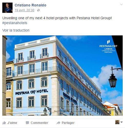 كريستيانو رونالدو يكشف رسميا عن مشروعه الجديد بمراكش