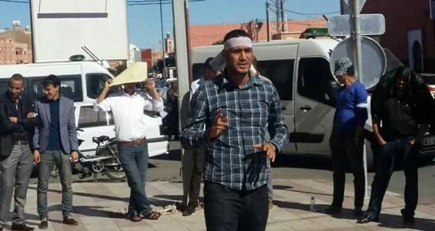 الجمعية المغربية لحقوق الإنسان تطالب بالتحقيق في وفاة إبراهيم صيكا عضو التنسيق الميداني للمعطلين بكلميم