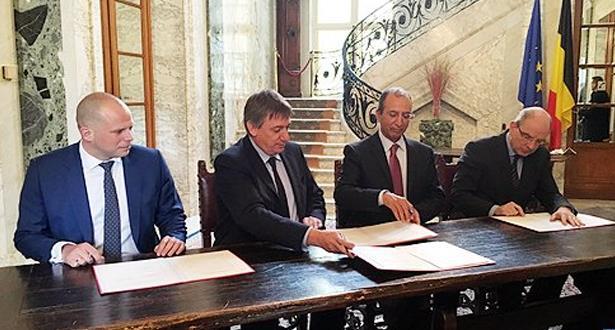 المغرب وبلجيكا يشيدان بالتعاون الثنائي الكبير في المجال الأمني