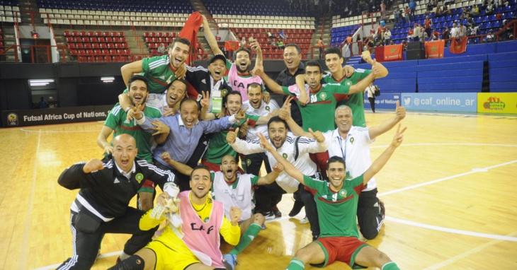 عاجل: المنتخب المغربي يفوز بكاس افريقا لكرة القدم داخل القاعة على حساب المنتخب المصري