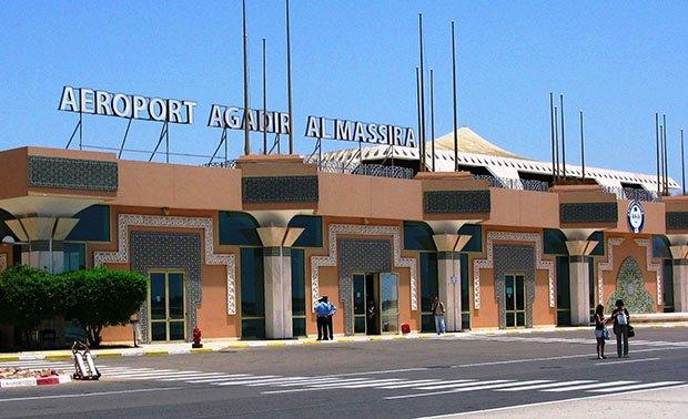 استنفار أمني بمطار أكادير بسبب آثار متفجرات