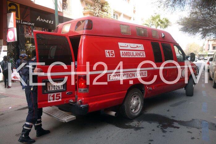 عاجل: شاحنة عسكرية تدهس سائق دراجة نارية بحي جليز بمراكش