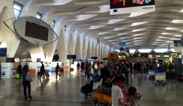انخفاض حركة المسافرين بمطار مراكش خلال الثلاثة أشهر الأولى من هذه السنة