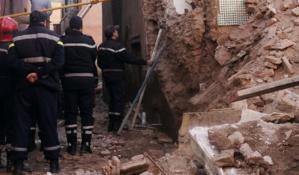 عاجل: إنهيار منزل بالمدينة العتيقة لمراكش