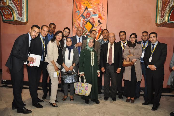 اتحاد المحامين الشباب بمراكش يستقبل أزيد من 90 متمرن من اصحاب البذلة السوداء