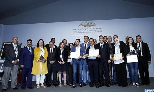 """فوز قناة """"الأولى"""" و موقع """"كود.ما"""" بالجائزة الكبرى للصحافة الفلاحية والقروية"""