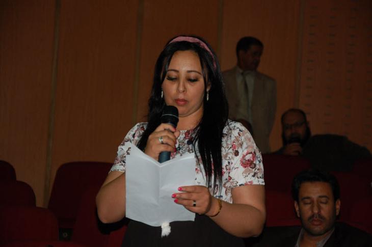 المستشارة الإستقلالية نجاة الناصري ترافع بمجلس جهة مراكش آسفي لحماية منطقة أوريكا السياحية من الفيضانات
