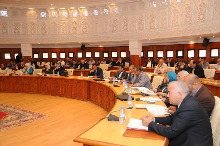 المجلس الجماعي لمدينة مراكش يصادق على نقاط الجلسة الأولى من دورة ماي