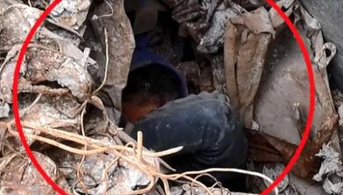 انتشال 15 قاصرا مغربيا من حاويات متلاشيات في مليلية