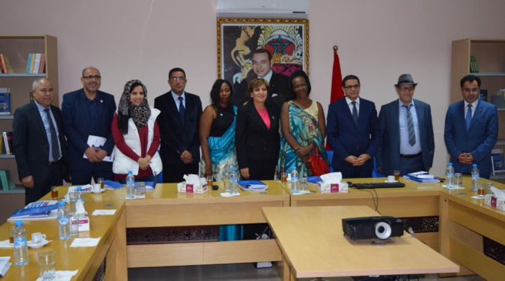 وزيرة تنمية الجماعات الترابية بجمهورية بوروندي تقوم بزيارة لجهة مراكش أسفي