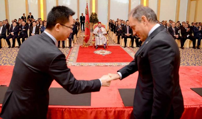 الملك يترأس ببكين حفل التوقيع على عدد من اتفاقيات الشراكة بين القطاعين العام والخاص