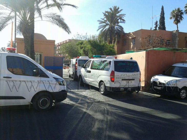 شركات نقل الأموات بمراكش تدخل في إضراب مفتوح عن العمل لهذا السبب + صور
