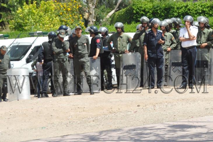 إصابات واعتقالات في أحداث الحي الجامعي بمراكش و