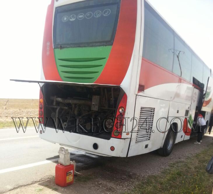 عاجل: عشرات الركاب عالقون بالرحامنة بعد تعطل الحافلة التي تقلهم باتجاه مراكش + صورة