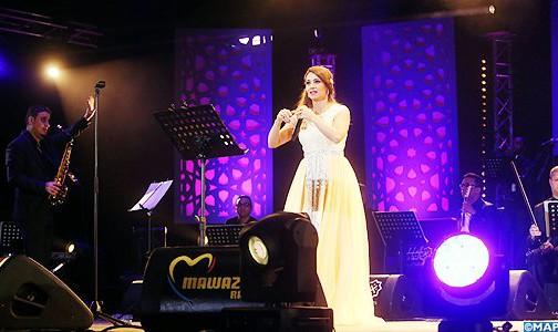 أميرة الغناء العربي ديانا حداد تتألق في أولى حفلات المنصة الشرقية بمهرجان موازين
