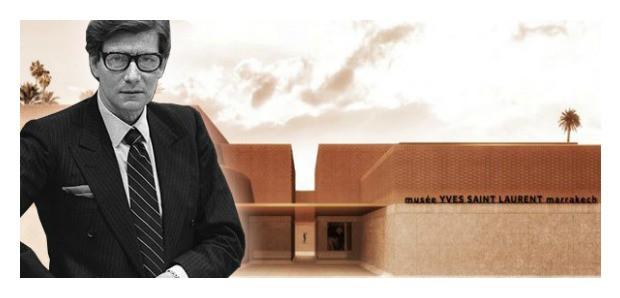 """بالصور: شركة فرنسية تكشف التصميم المعماري لمتحف """"إيف سان لوران"""" بمراكش"""