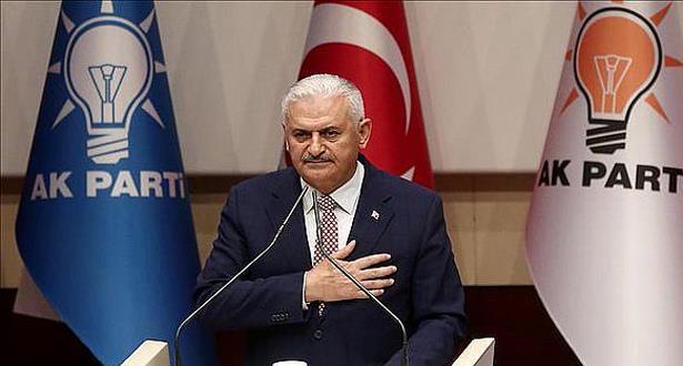 انتخاب بن علي يلدريم رئيسا لحزب العدالة والتنمية الحاكم بتركيا