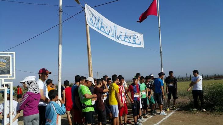 بالصور: تنظيم أول مارطون بجماعة اوريكة ضواحي مراكش