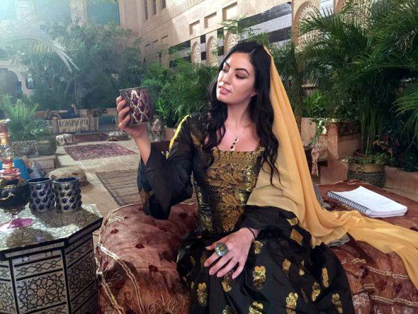 بالصور: ملكة جمال مراكش السابقة تتحول لملكة سمرقند في مسلسل تاريخي جديد