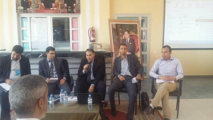 الجمعية المغربية لنشر الوعي بالقانون والحريات تحل ضيفا على الثانوية التقنية التأهلية بشيشاوة.