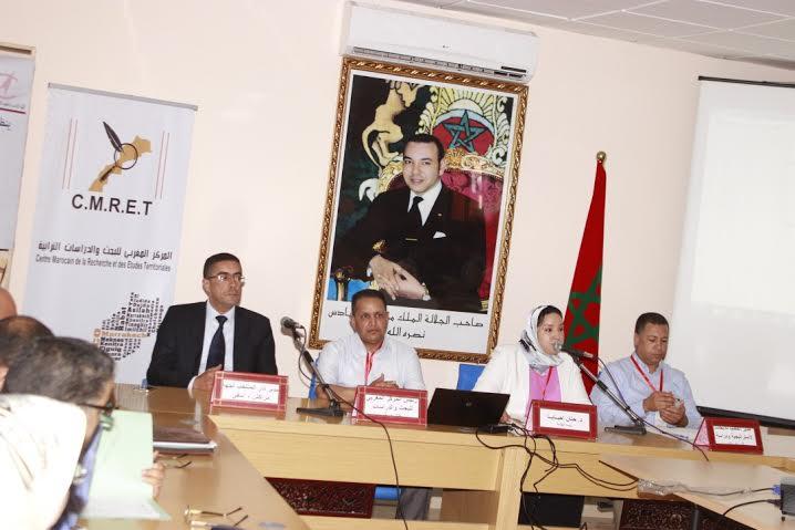 مدينة مراكش تحتضن ندوة وطنية حول مقاربات ومفاهيم التدبير الترابي + صور