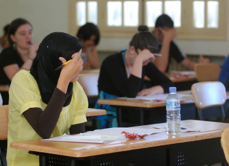 وزارة التربية الوطنية تضع 70 ألف مراقب لامتحانات البكالوريا