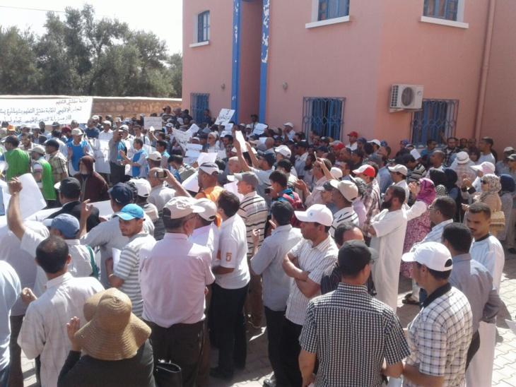 نقابة مفتشي التعليم بشيشاوة تقاطع مختلف التكليفات الصادرة عن المدير الإقليمي