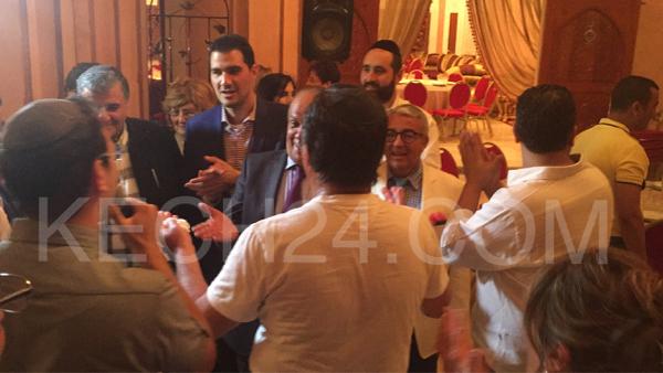 اليهود المغاربة المدافعين عن الوحدة الترابية بأمريكا في ضيافة عائلة عريقة بمراكش + صور حصرية