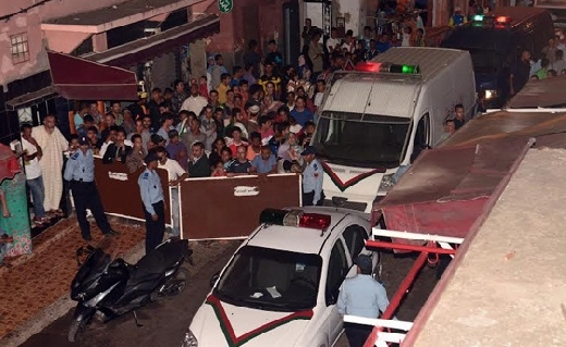الشرطة تطلق النار لتوقيف شخصين متورطين في الضرب والجرح والإحتجاز وطلب فدية