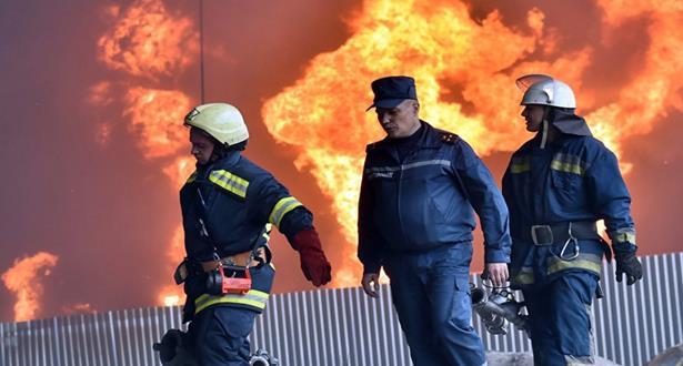 مقتل 16 شخصا في حريق بمنزل في قرية قرب كييف