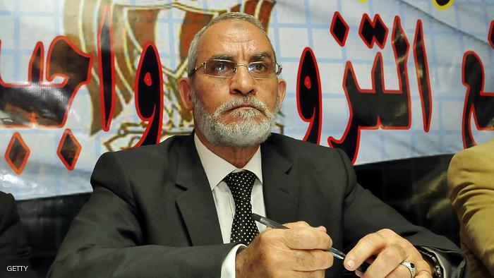 السجن مدى الحياة لمحمد بديع المرشد العام لـ